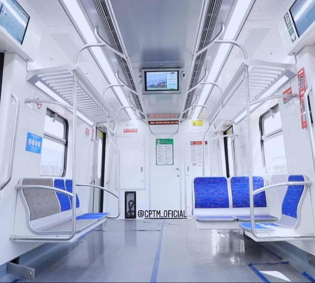 CPTM, mostra novos trens da linha Gujarulhos e Aeroporto