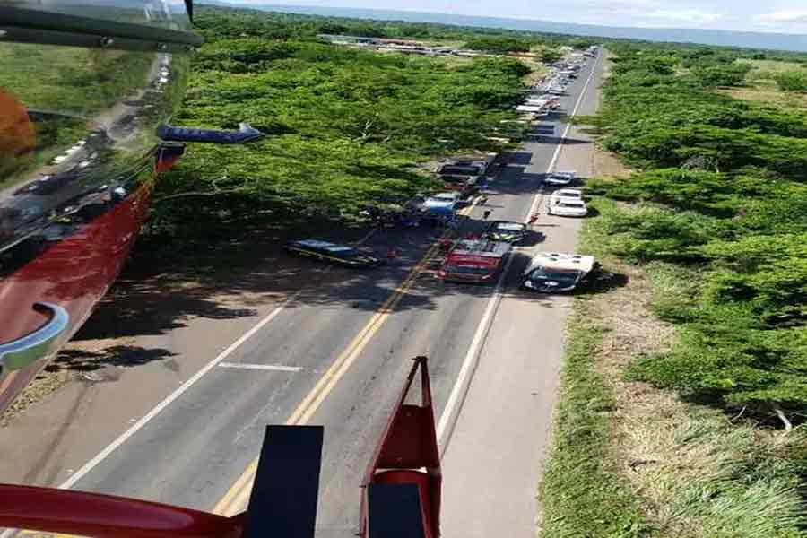 Acidente na BR-020 deixa três mortos e quatro feridos