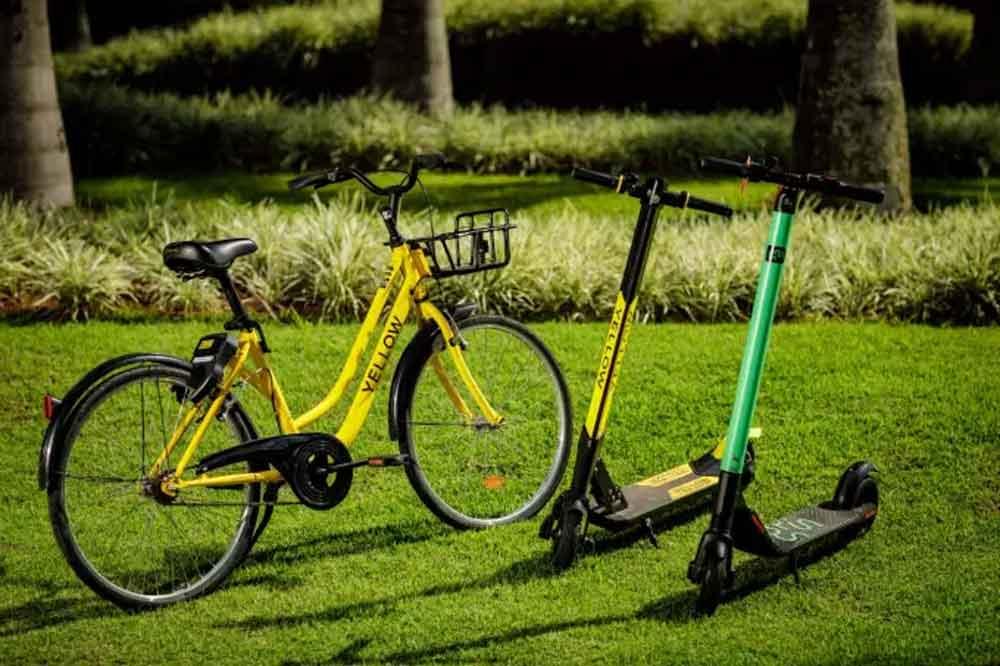 Bicicletas compartilhadas da Yellow deixam de circular no Brasil
