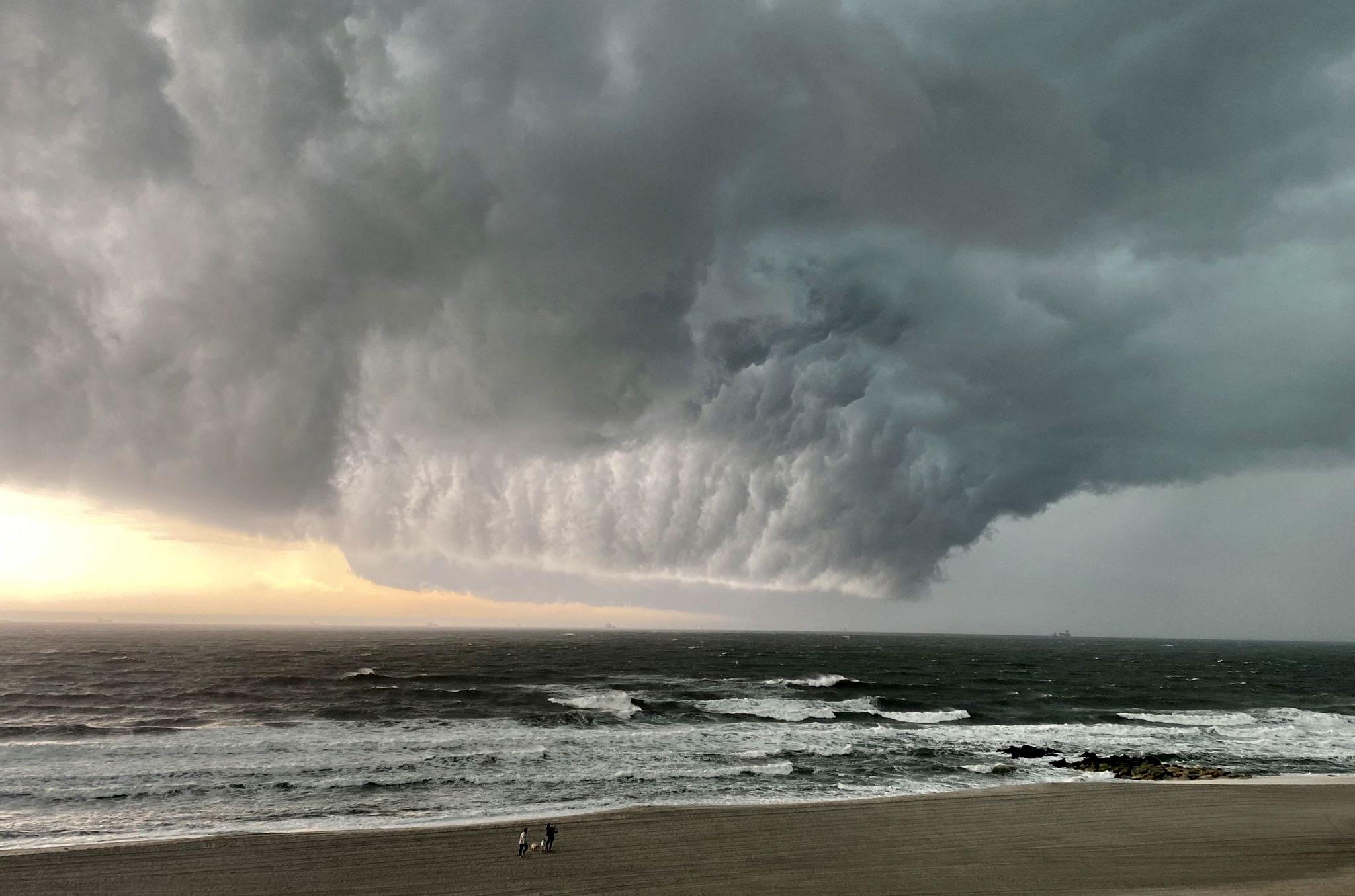 EUA emitem alerta de tornado para Nova York. Foto: Twitter