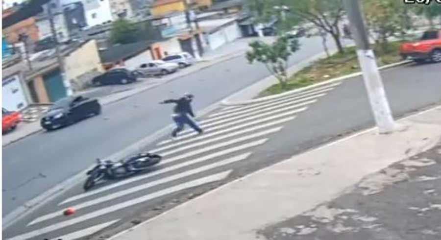 Assaltantes morrem ao tentar assaltar PM na zona sul de SP. Foto: Reprodução