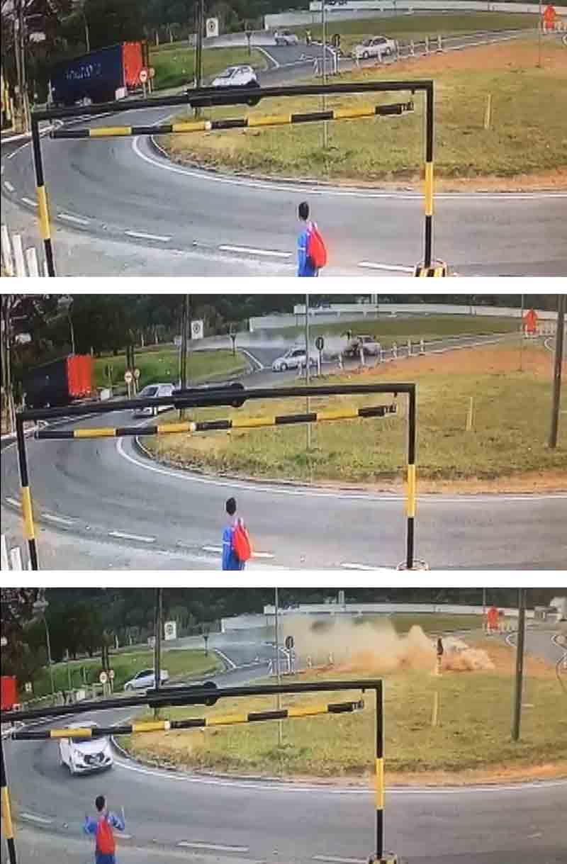 Vídeo: Criminoso em fuga mata motociclista de 29 anos em Louveira. Foto: Reprodução Youtube