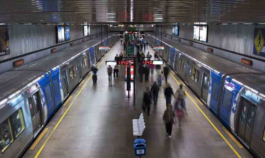 RJ: metrô e trens funcionam no feriado com horário e grades especiais. Foto: Divulgação